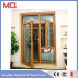 Дверь Casement главной двери самомоднейшей конструкции алюминиевая с шторками