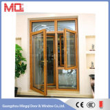 porte en aluminium de tissu pour rideaux de porte principale de modèle moderne avec des abat-jour