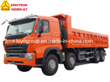 Carro de vaciado de Sinotruk HOWO-A7 420HP 8X4 25-30m3