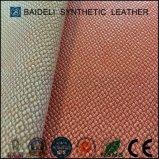 Tessuto antifrizione del cuoio sintetico del PVC per il sofà/la mobilia/tappezzeria dei sacchetti