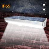 Самая новая рамка IP65 алюминиевого сплава силы СИД 48 СИД солнечная светлая делает света водостотьким стены патио ярда сада светильника обеспеченностью сада датчика движения PIR беспроволочные напольные