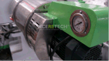 Boudineuse à vis simple réutilisant la machine dans le raphia en plastique/pelletisation de filament/fibre/machine de pelletiseur