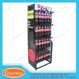 Металл пола супермаркета стоя вися разлил мягкий стеллаж для выставки товаров по бутылкам хранения питья напитка