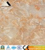 600X600mm Marmorsteinmuster glasig-glänzende Polierfußboden-Fliese mit glattem (661361)