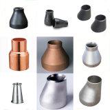 Redutores de aço inoxidável de montagem de tubos