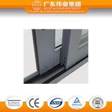 Окно высокого качества алюминиевое с сползая деятельностью отверстия