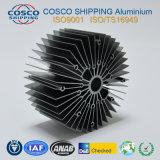 Het concurrerende Profiel van het Aluminium voor Heatsink met het Zwarte Anodiseren en het Machinaal bewerken
