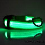 Klassische LED Hundehalsringe der Rasterfeld-Faltenbildung-Qualitätshaustier-Produkt-