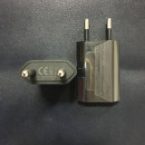 iPhone 4 4s 5 5s 5c Se USB力EU USBの充電器1Aの黒のためのEUのプラグは可動装置及び小さい装置を満たす
