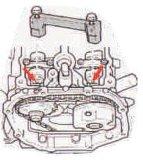 для VW. Группа приурочивая инструмента Audi (A6L 2.4/3.2/Q7 4.2)