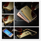 iPhone 6 도매를 위한 금 색깔 금속 상자, iPhone 6 미러 상자를 위한 iPhone 6을%s 셀룰라 전화 미러 상자,