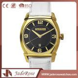 Customed Form-einfache Frauen-Leder-Uhr