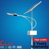 Luz de rua solar do diodo emissor de luz do projeto novo do fornecedor do ouro de China