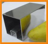 Inferriata con 304, tubo scanalato quadrato dell'acciaio inossidabile 316