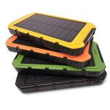 cargador solar universal dual Powerbank del USB de la batería de la energía solar 10000mAh