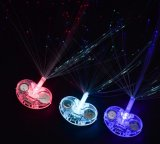 LED Lights Hair Light Up Fibre Optique LED Hair Barrettes Party Favors for Party