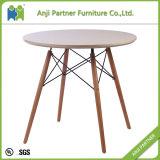 Tabella bianca rotonda pranzante materiale durevole della barra della mobilia (Daphne)