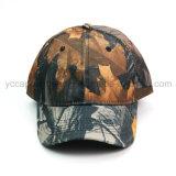 6つのパネルハンチングCamoの野球帽