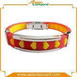 A annoncé le bracelet de silicones de logo de modèle