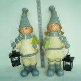 Figurine de jardim de resina artesanal de Hot Sale para Deco