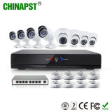 Набор камеры IP высокого качества HD P2p 8CH NVR (PST-IPK08B)