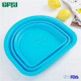 D BPA Shaped libèrent la passoire compressible de silicones pour l'usage extérieur de cuisine