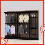 Coffret d'étalage de mur de vêtements pour le magasin au détail