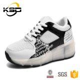 2016 Schoen van de Sport van de Jonge geitjes van de Fabriek van China de Hete Verkopende met 7 LEIDENE Lichte Enige LEIDENE van het Schoeisel Schoenen