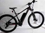 Велосипед волокна углерода 22 ШАГОВ дюйма электрический с вариантом дросселя