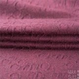 Tessuti di cotone e delle lane con il tessuto del jacquard in rosso-cupo
