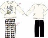 Vêtements de bébé de fleur chez l'usure Sq-17109 de gosses des enfants