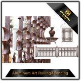 Декоративная загородка литого алюминия конструкции для ограждать сада
