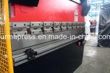 Freno hidráulico de la prensa del metal del CNC, dobladora Wc67k-63t3200 de la placa