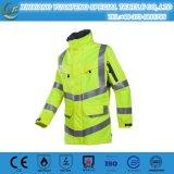 En20471/343 최신 판매 정전기 방지 재킷 분리가능한 소매를 가진 사려깊은 겨울 안전 재킷