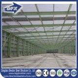 Magazzino d'acciaio del tetto prefabbricato industriale poco costoso del metallo della Cina da vendere