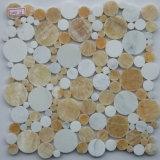Mosaico de mármol del guijarro
