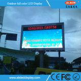 Alta tarjeta al aire libre de la muestra del brillo P10 LED con la prueba del tiempo