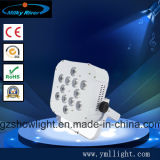 7PCS RGBW LED eventi operati piani sottili LED Uplighting di modo & di PAR/Wedding