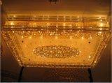 Glasfarbton Bl-510 mit dekorativer Kristallkugel-Decken-Lampe