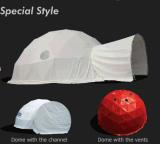 Водоустойчивый большой шатер геодезический купола для случая