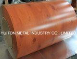 Printech PPGI bobine en acier précieuse en imitation de bois