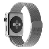 Milanese 루프 스테인리스 팔찌 Apple 시계 38mm&42mm를 위한 지능적인 시계 결박