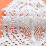 Weiße Spitze-Stutzen-Muffen auf Kleid, Muffen-dekorative Spitze für Kleid