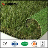 China Proveedor PPE Material 42mm Jardín Natural Césped Artificial