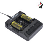 Xtar Vp4 LED Indicator Battery Charger met USB Output