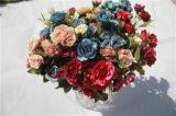 Fiori artificiali poco costosi della Rosa per la decorazione domestica