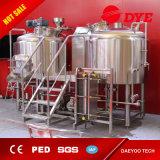 7개 Bbl 판매를 위한 소형 마이크로 상업적인 맥주 양조장 장비