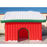 عيد ميلاد المسيح عطلة زخرفة بناء قابل للنفخ لعبة منزل