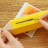 Kreativer Art-Bleistift geformter wasserdichter Silione weicher Bleistift-Kasten