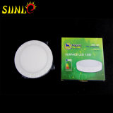 Prix ​​12W 420lm Suface-Type LED Round Light Panel
